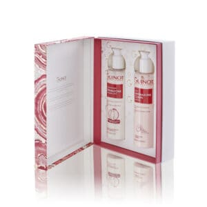 Gift box of body moisturiser